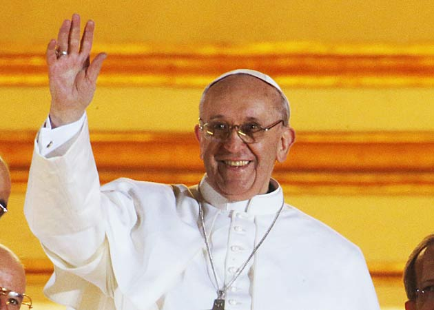 Jonathan Congratulates New Pope