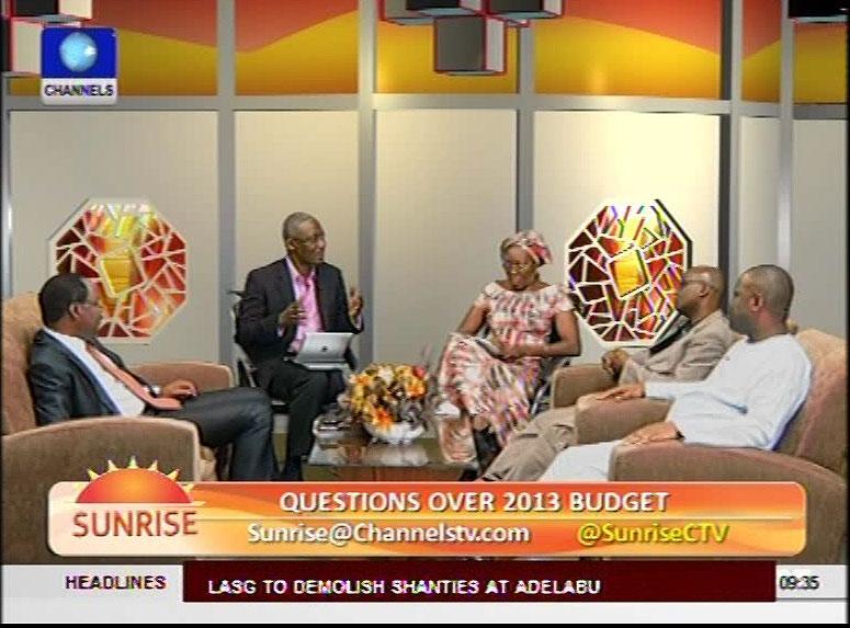 2013 Budget: Experts Discuss Matters Arising