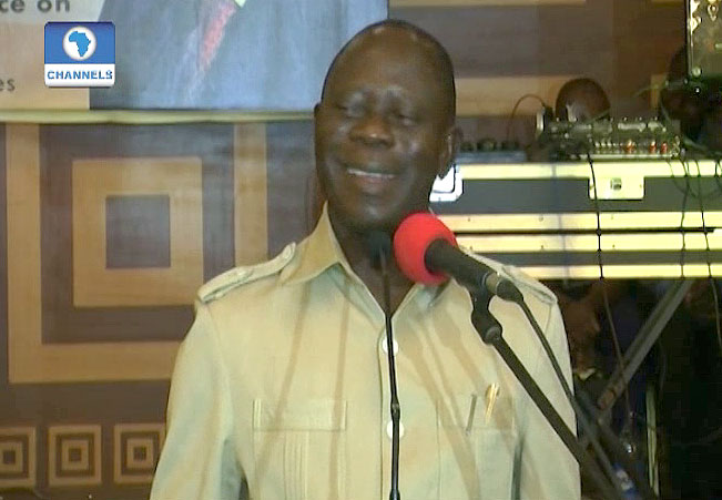 FG Grounds Oshiomhole's Helicopter
