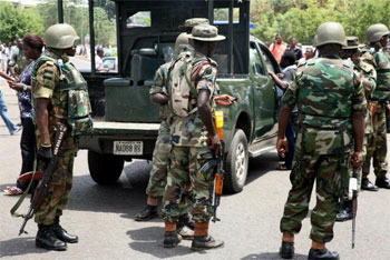 Army Recover Arms Among Women And Children In Kaduna