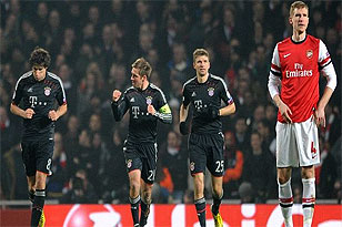 Wenger Rests Key Players Ahead Of Bayern Clash