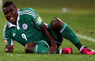 Emenike Bitter With NFF, Keshi For Neglect