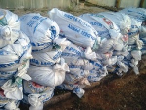 customs impound bags of cannabis