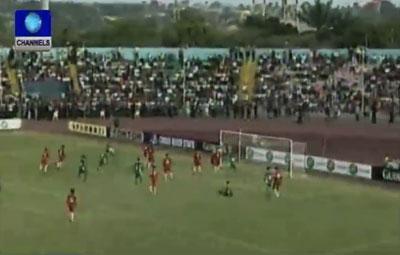 Nigeria Settles For Draw Against Kenya