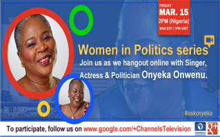 Hangout With Onyeka Onwenu on G+