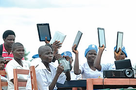 Secondary School Students Get Free Computer Tablets In Osun