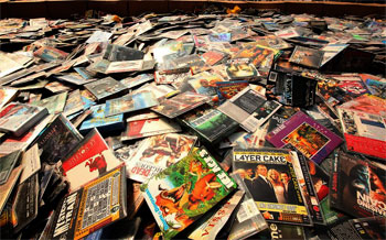N300m Worth Of Pirated DVD Seized By Customs, Copyright Commission