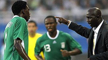 NFF Eyes Siasia For Olympic Team Job