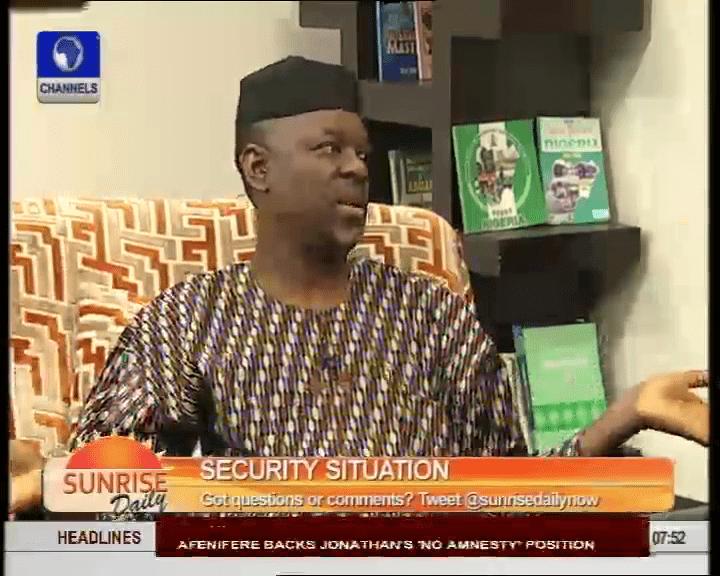 Boko Haram: Amnesty Can't Be Undertaken In A Vacuum – Osuntokun