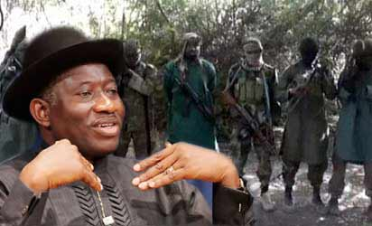 Jonathan Sets up Committee On Granting Amnesty To Boko Haram