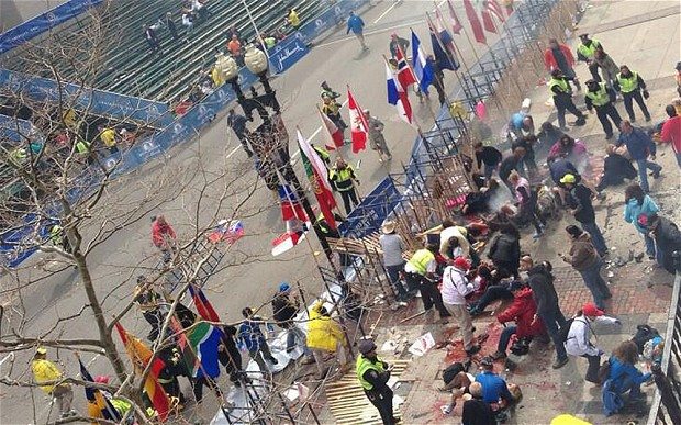 Investigators Hunt For Clues In Boston Marathon Bombing