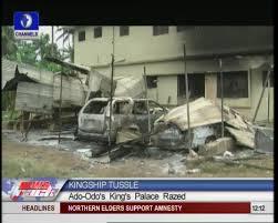 Burnt Ado Odo Ota Palace Channels Television