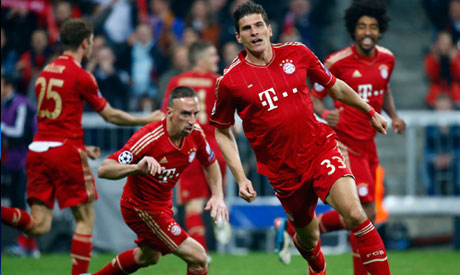 UEFA League: Bayern Demolish Barca 4-0