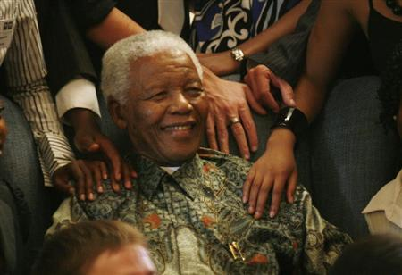 Family Members Visit Mandela In Hospital