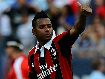 Robinho Pledges Future To Serie A Side; AC Milan