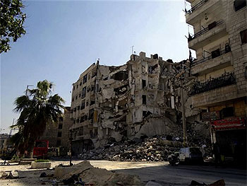 12 Children Knocked Down in Syria Airstrikes