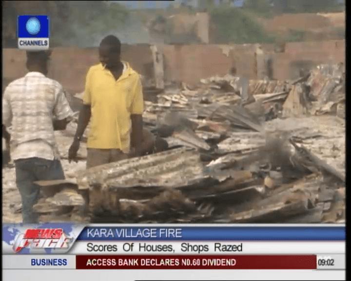 Kara Village Razed Down