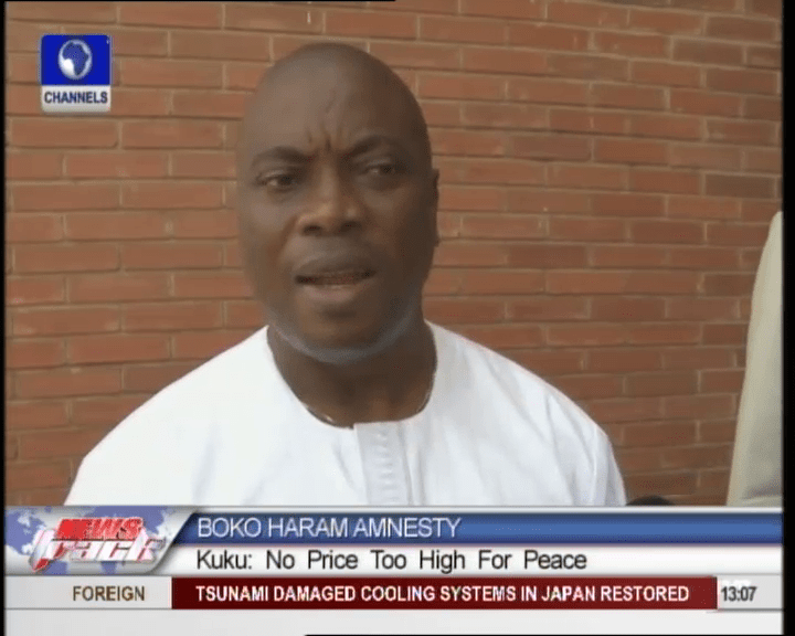No Price Is Too High To Pay To Gain Peace – Kingsley Kuku