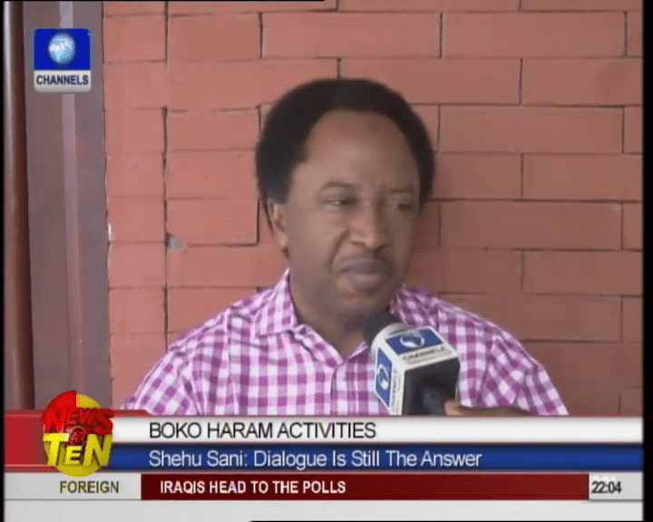 Shehu Sani Rejects Nomination As Amnesty Committee Member