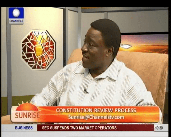 Why Const. Amendment Has Not Worked In Nig