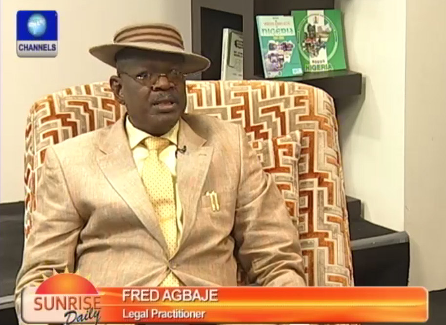 Agbaje Says Emergency Rule Will Alter Existing Legal Order