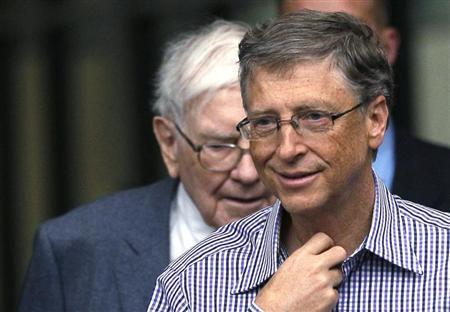 Billionaires PledgeTheir Fortunes To Bill Gates' Charity