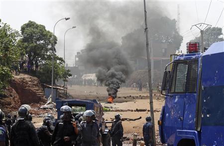 Death toll from Guinea opposition march rises to four