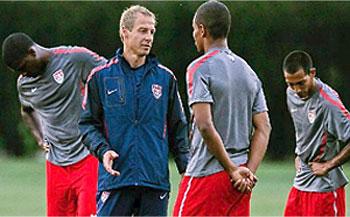Klinsmann's U.S. Squad Preps For W. Cup Qualifiers