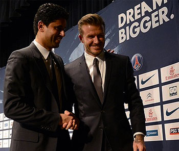 PSG Willing To Keep Beckham On Board