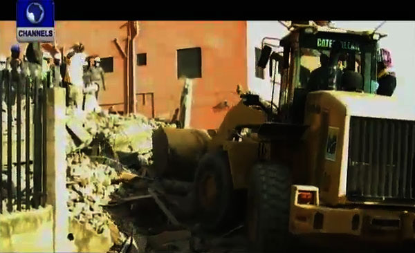Four Story Building Collapses In Lagos, Kills Worker