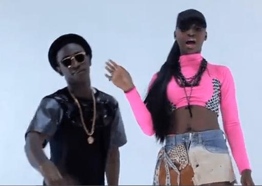 Female Rapper Tipsy Features Dammy Krane In 'Tin Geh Geh' Video