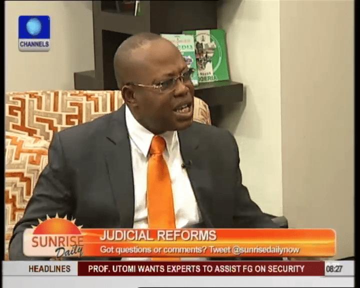 Nigerians Are Encouraged By Judiciary Reforms – Onyekachi Ubani