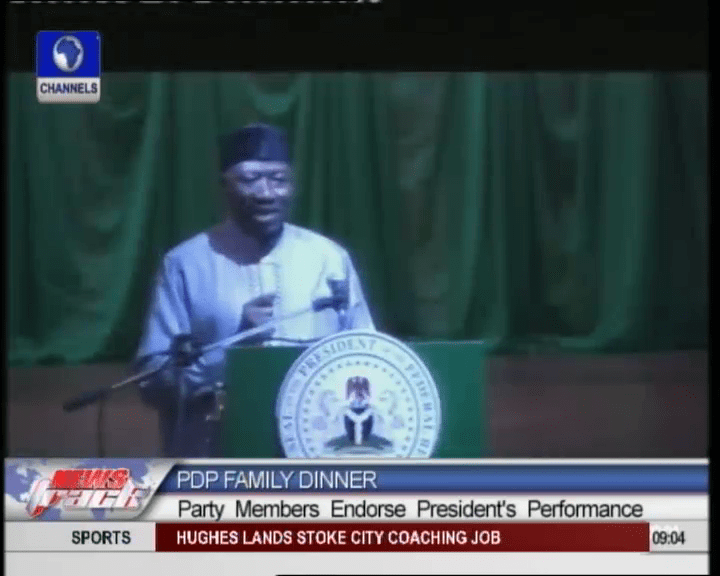 VIDEO: Jonathan Welcomes Opposition Gang-Up Against PDP