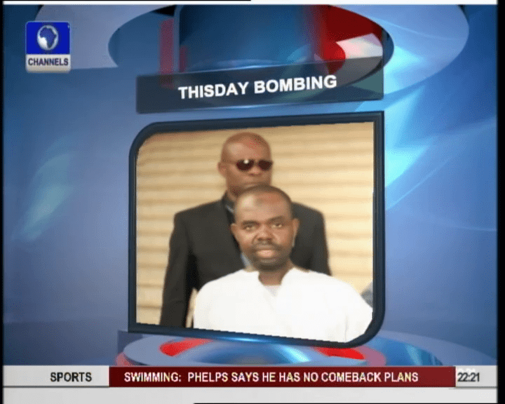 Thisday Bomber Denies Terrorism Charges