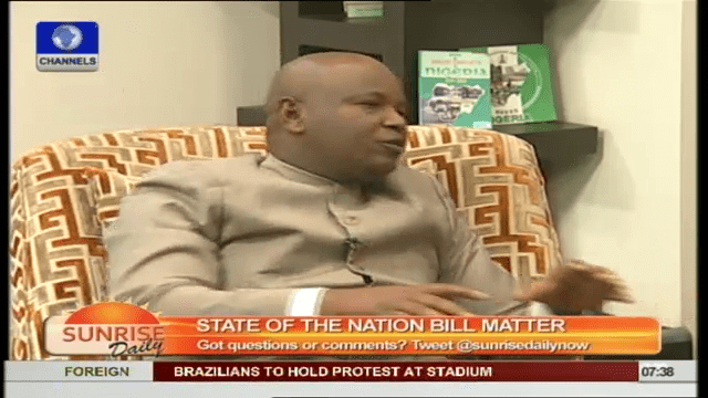 State of the Nation Address Seeks To Wither President's Power
