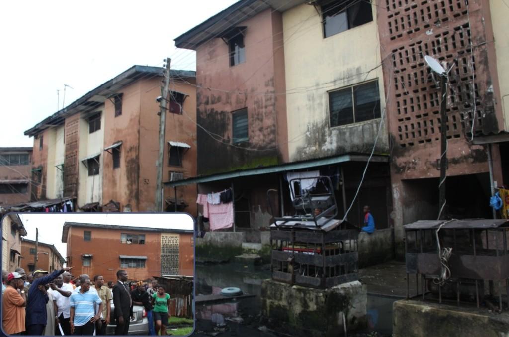 Fashola To Demolish Adeniji Adele Estate