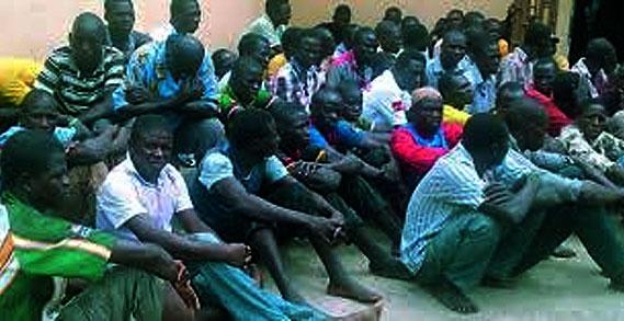 Edo Immigration Deports 120 Illegal Immigrants