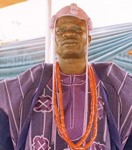 Olofa of Offa, Oba Mufutahu Gbadamosi