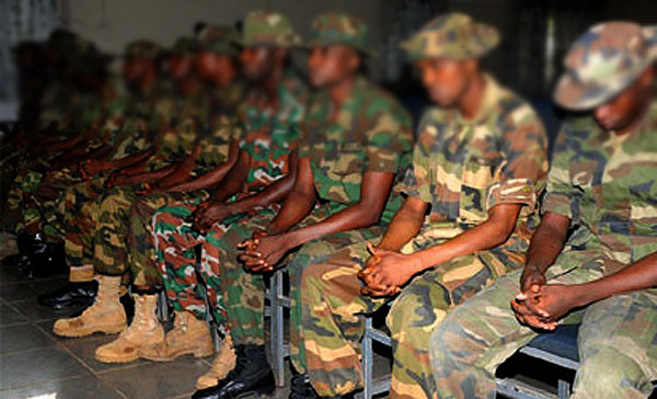 Army Court Martial 17 Soldiers For Unprofessional Acts In Yobe, Borno