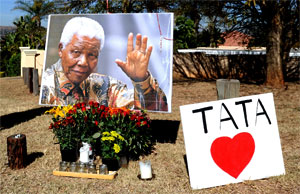 'We Don't Want To Lose Mandela', South Africans Say