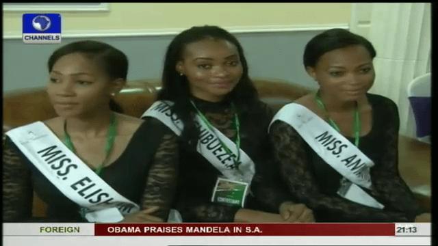 Miss Nigeria Finalists Visit Ekiti state First Lady