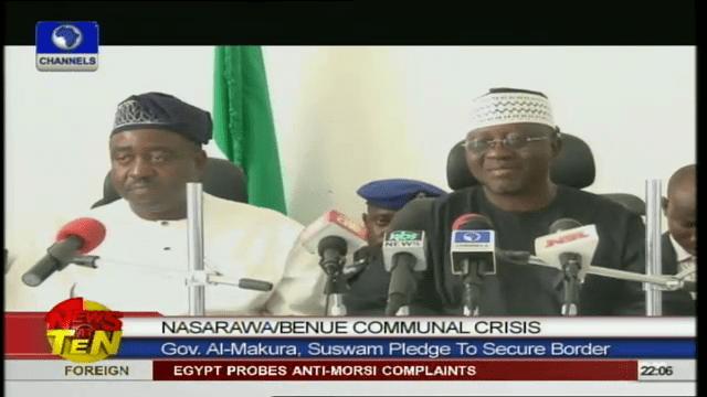 VIDEO: Benue, Nasarawa To Share Intelligence On Communal Crisis