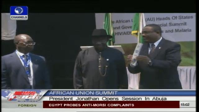 Jonathan Hosts African Leaders Including Al-Bashir On HIV/AIDS Summit