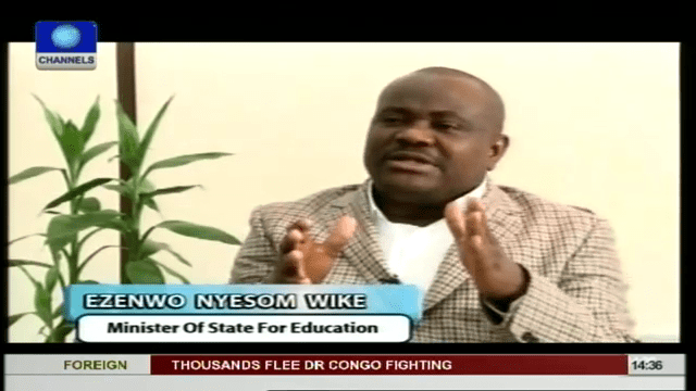 Rivers Crisis Is About Positioning For 2015 – Wike