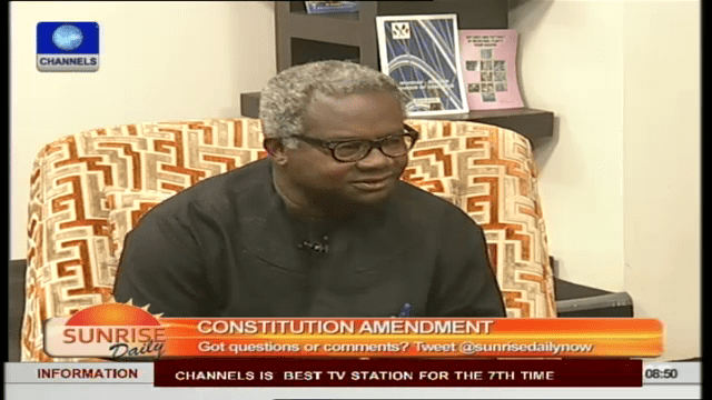 Constitution Amendment: Nigerians Not Involved In Process – Lawyer