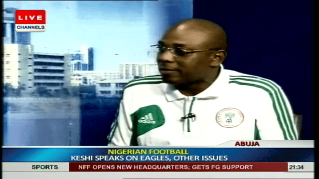I love Super Eagles; It is In My Blood – Stephen Keshi