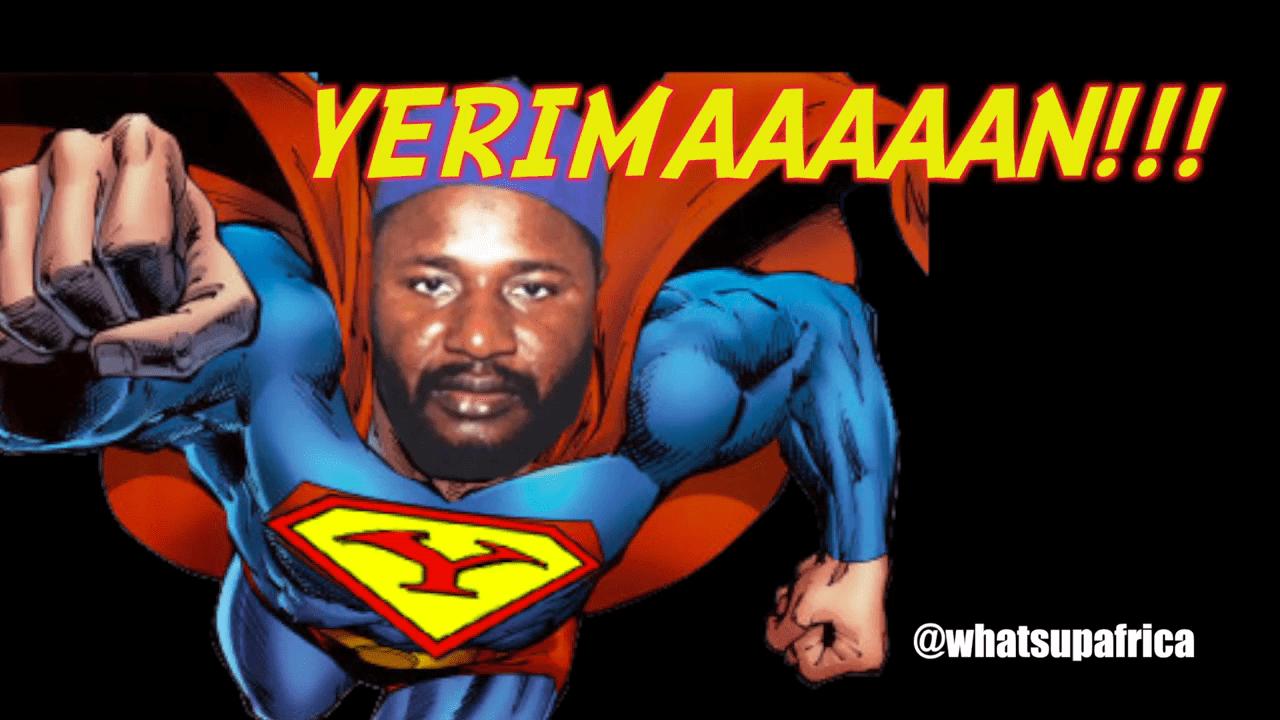 Senator Yerima Becomes Superhero