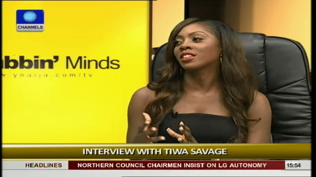 I Compete Only With Men In Nigeria's Music Industry – Tiwa Savage