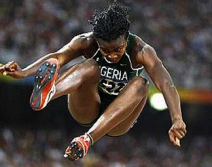 Okagbare Wins Nigeria's First Medal In Moscow