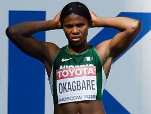 Okagbare Fails To Clinch Medal Position In 100m